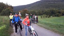 Froehliche Radtour für alle Buerger am 04. August
