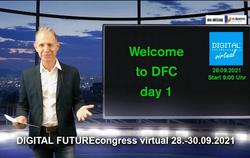 Gelungene 3. Auflage des DIGITAL FUTUREcongress virtual national
